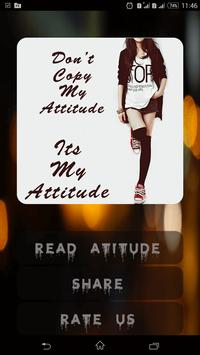 Its My Attitude apk screenshot