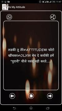 Its My Attitude poster