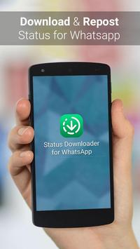Status Downloader for Whatsapp الملصق