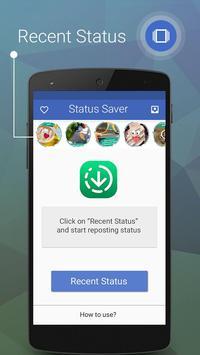 Status Downloader for Whatsapp تصوير الشاشة 1