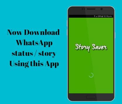 Story Saver For whatsapp poster