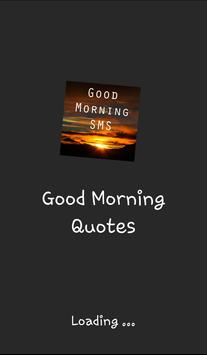 2018 Good Morning Quotes poster