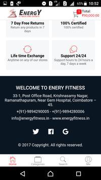Energy Fitness & Sports screenshot 2