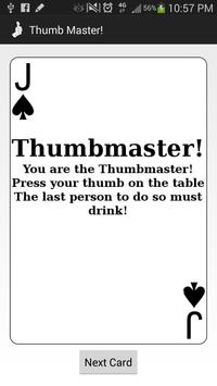 Thumb Master! apk screenshot