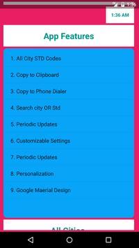 Indian STD Codes apk screenshot
