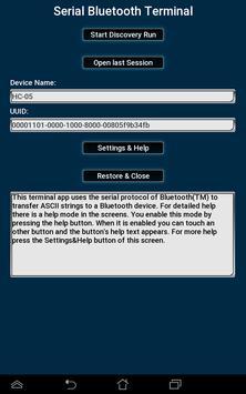 Bluetooth Terminal for HC-05 over SPP screenshot 5
