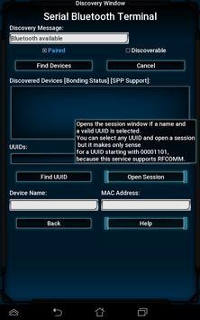 Bluetooth Terminal for HC-05 over SPP screenshot 6