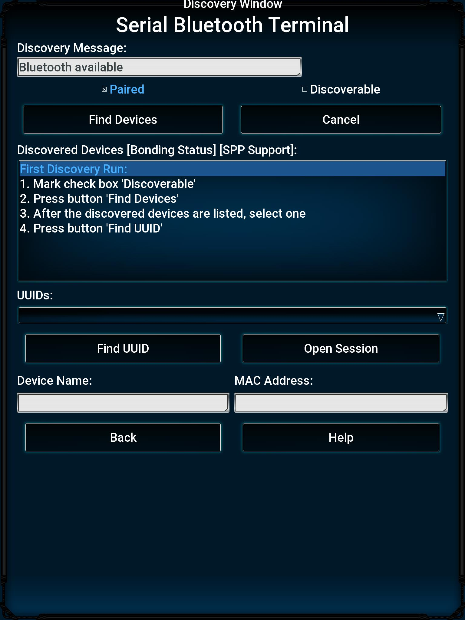 Bluetooth Terminal for HC-05 over SPP for Android - APK Download