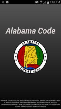 Alabama Code poster