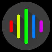 AudioVision Music Player आइकन
