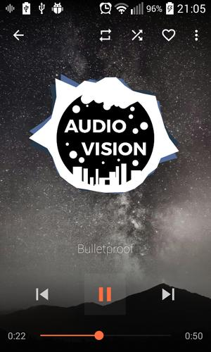 AudioVision Music Player for Android - APK Download