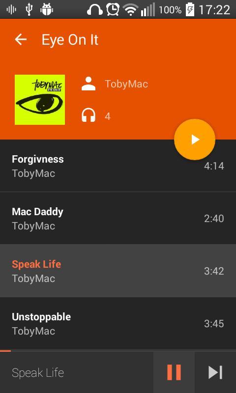Download free aplikasi AudioVision Music Player v2.8.5