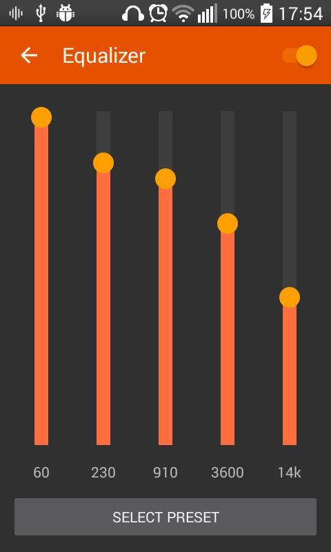 Aplikasi terbaik android AudioVision Music Player v2.8.5