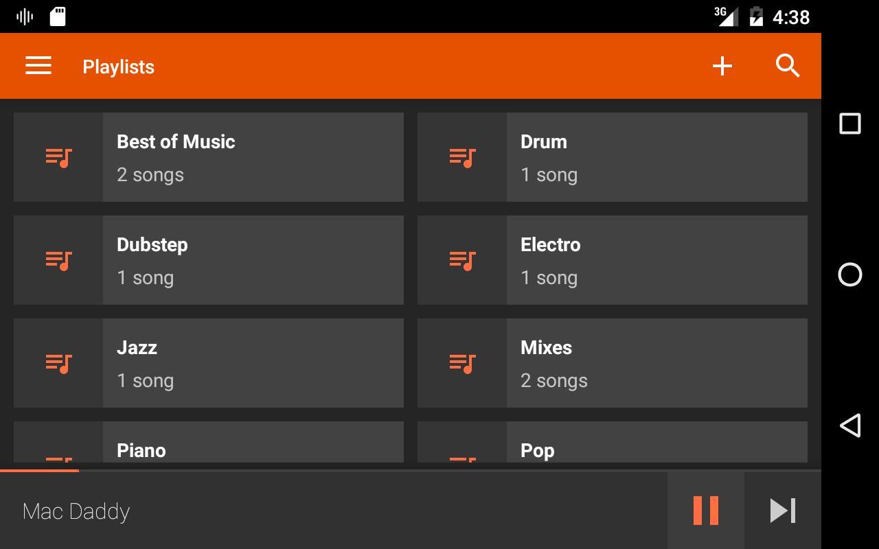 AudioVision Music Player para Android - APK Baixar