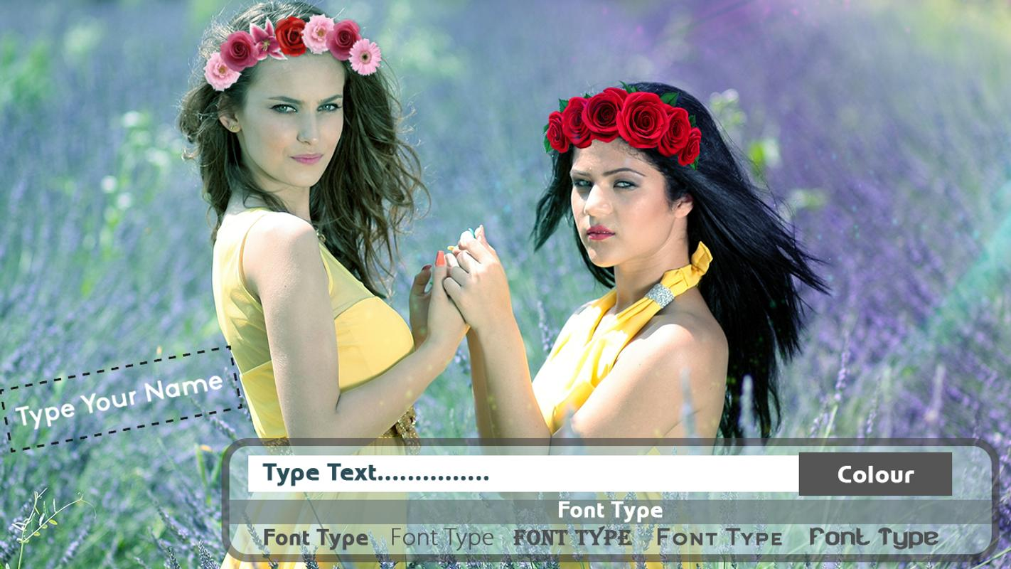 Flower crown photo editor for android apk download flower crown photo editor captura de pantalla 4 izmirmasajfo