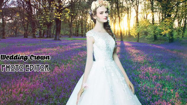 Wedding Crown Photo Editor poster