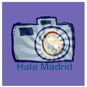 Real Madridista Sticker Camera icon
