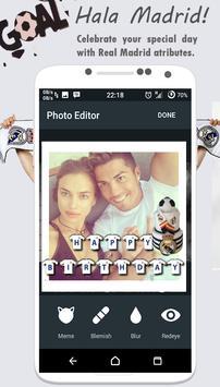 Real Madridista Sticker Camera screenshot 1