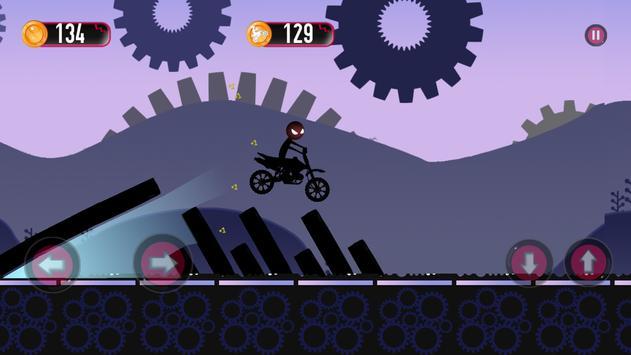 stickman jungle motobike race apk screenshot