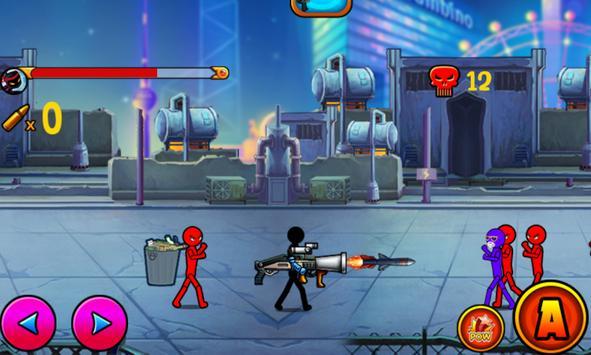 Stickman: survival challenge apk screenshot