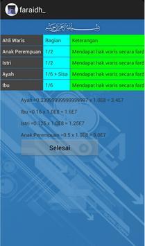 Faraidh apk screenshot