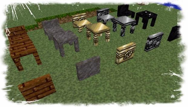 2017 furniture mod for MCPE apk screenshot