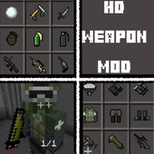 HD weapon mod for minecraft icon