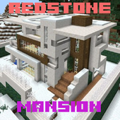 Redstone mansion map for mcpe icon