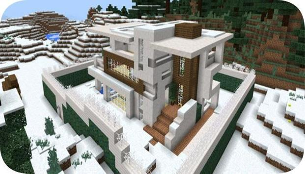 Redstone mansion map for mcpe poster