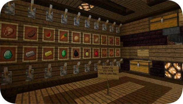 Redstone mansion map for mcpe apk screenshot