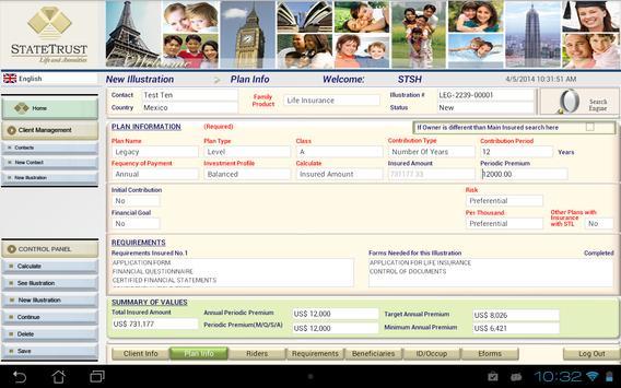 Virtual Office Statetrust Life screenshot 2