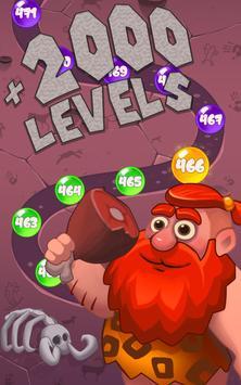 Stone Age Bubble Popper screenshot 1