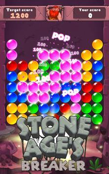 Stone Age Bubble Popper screenshot 2