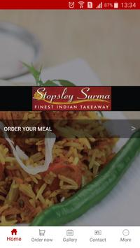 Stopsley Surma Indian Takeaway poster