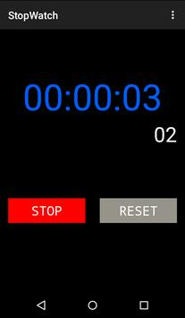 Simple Stop Watch apk screenshot