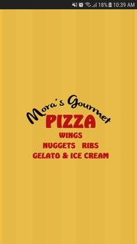 Mora's Gourmet Pizza poster