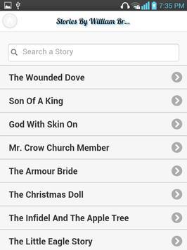 Message/Branham Stories apk screenshot