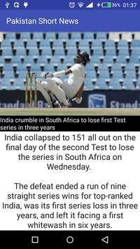 Pakistan Short News screenshot 3