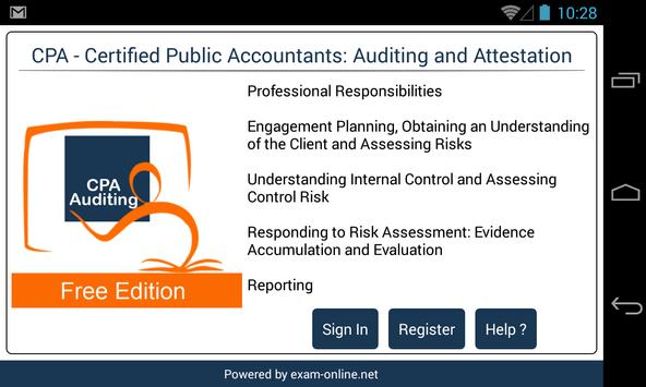 CPA Audit Exam Online Free poster