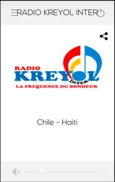RADIO KREYOL INTER poster