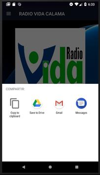 RADIO VIDA CALAMA CHILE screenshot 4