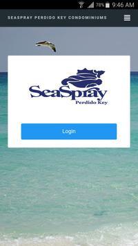 SeaSpray Perdido Key poster