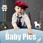 Baby Photo Story Editor- Milestones Photos icon