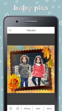 Baby Photo Story Editor- Milestones Photos screenshot 2
