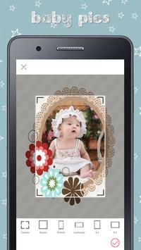 Baby Photo Story Editor- Milestones Photos screenshot 3