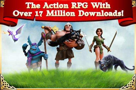 Arcane Legends MMO-Action RPG poster