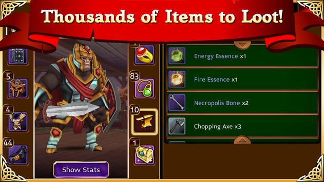 Arcane Legends MMO-Action RPG apk screenshot