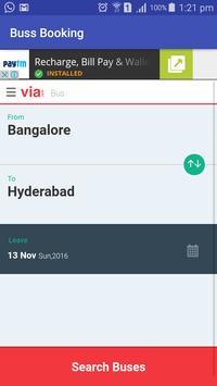 Easy Bus booking apk screenshot