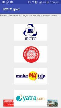 IRCTC & Indian Railway booking apk screenshot