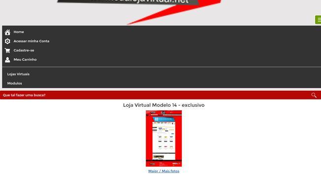 Sua Loja Virtual apk screenshot